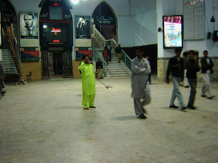 Raju GC, More of a Pakistani than everyone else, Performance, approx. 5 hours, 2006.