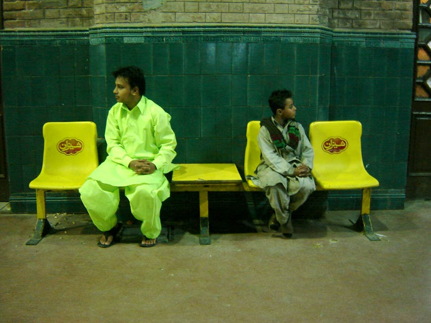 Raju GC, More of a Pakistani than everyone else, Performance Documentation, approx. 5 hours, 2006.