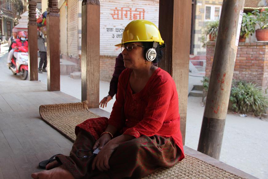 Raju GC, Shramik ka Katha (Migrant's Story), Multimedia Installation, Audio Stories, Chysal, 2018